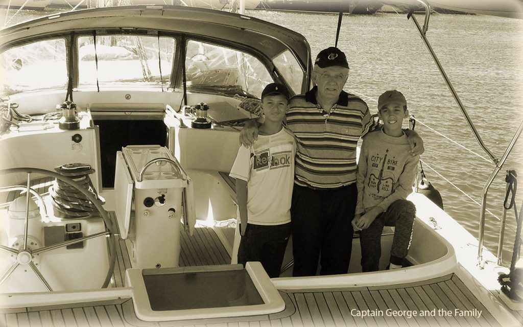 captain George and family on Christianna VIII