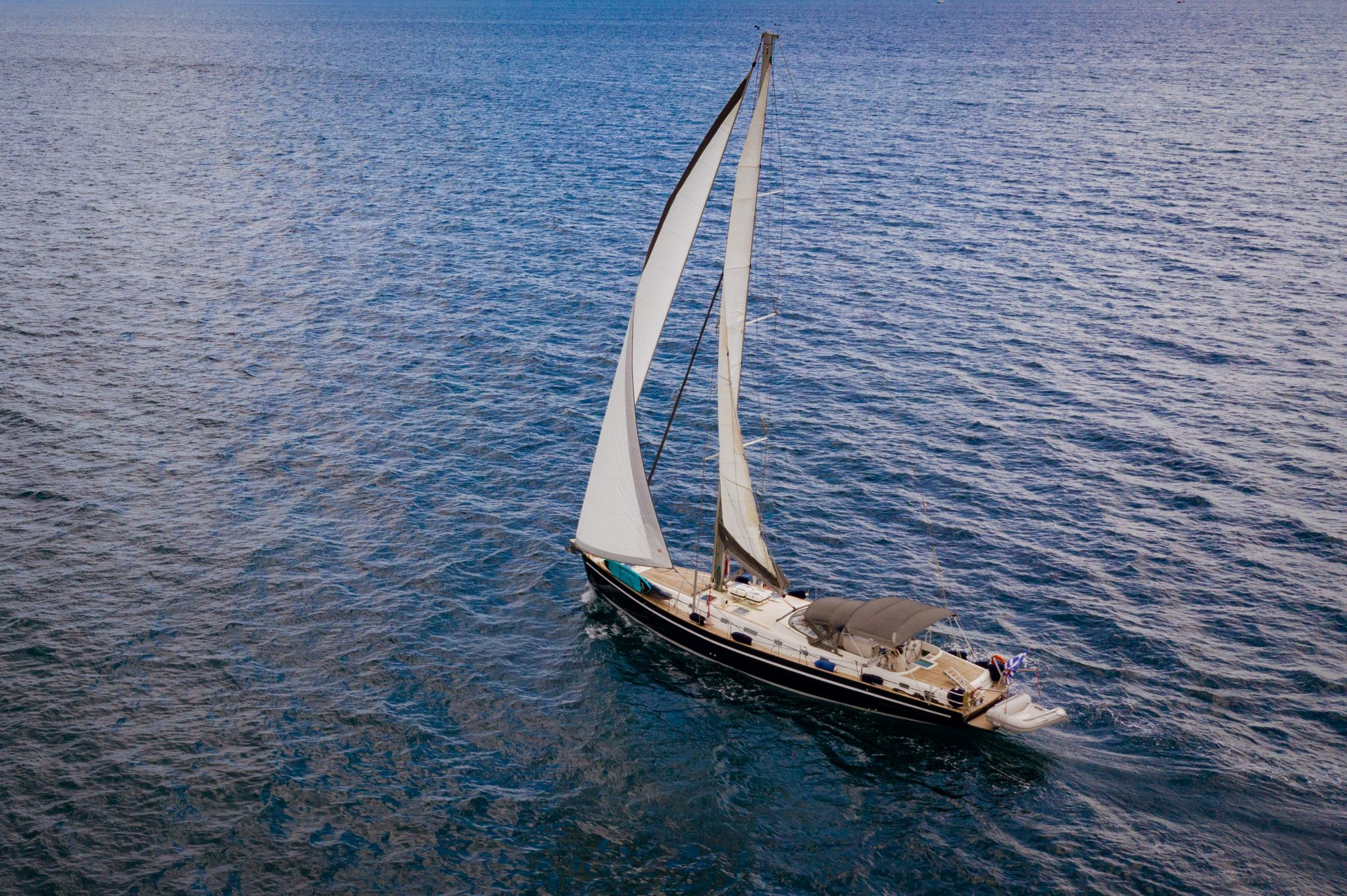 large sailing yacht 60ft sailing