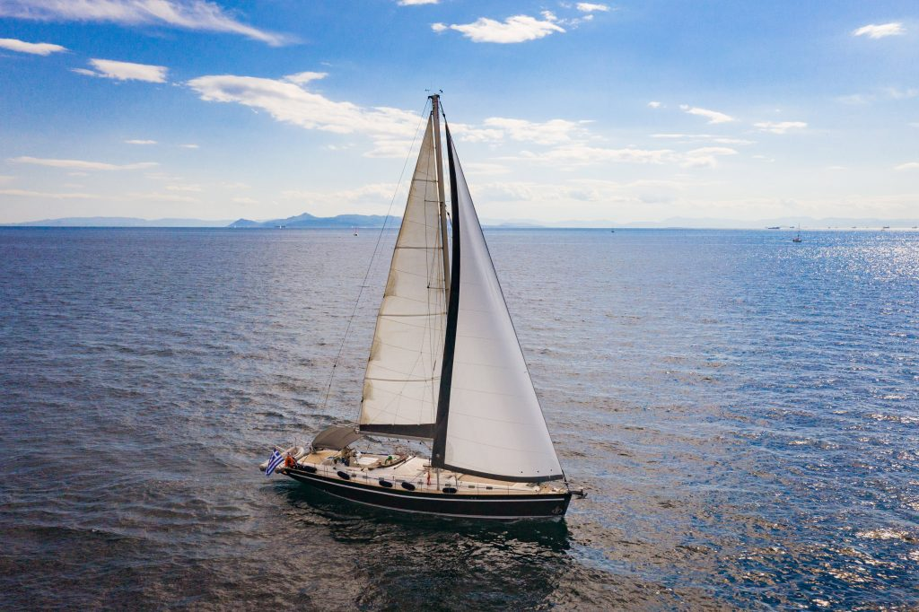 sailing yacht cruise in athens