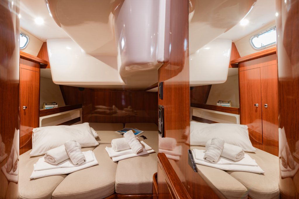 large double cabin with wc