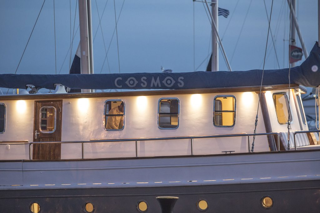cosmos available for charter in greece